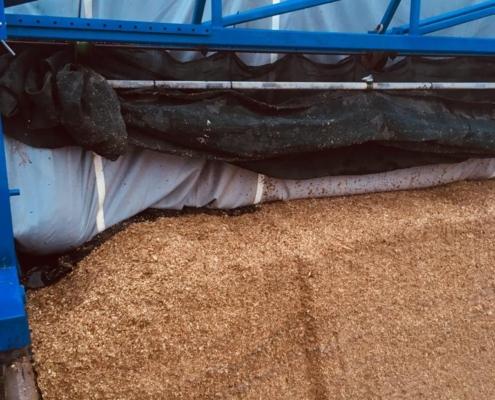 Kornet afdeksysteem - nagenoeg altijd droog bij uitkuilen