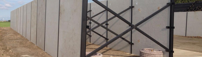 Stevige Staalconstructie voor dubbele silo wand