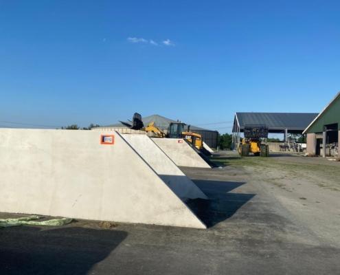 4 nette sleufsilo's van Kornet Beton Balk