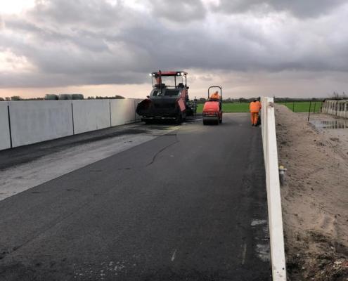 Zuurbestendige asfaltvloer